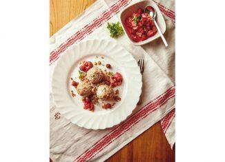 Rezept für Topfenknödel Gartenküche