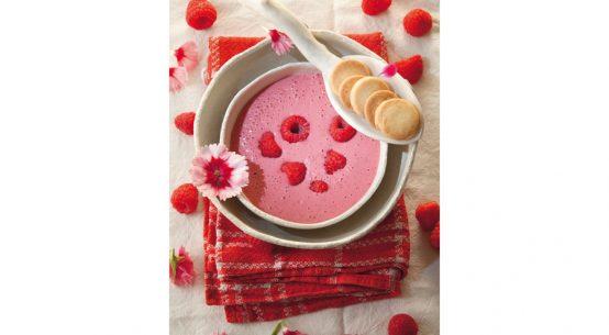 Rezept für Himbeer-Kaltschale Desserts für den Sommer
