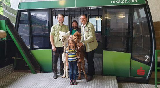 Ausflug für die ganze Familie Raxalpe Kindertag