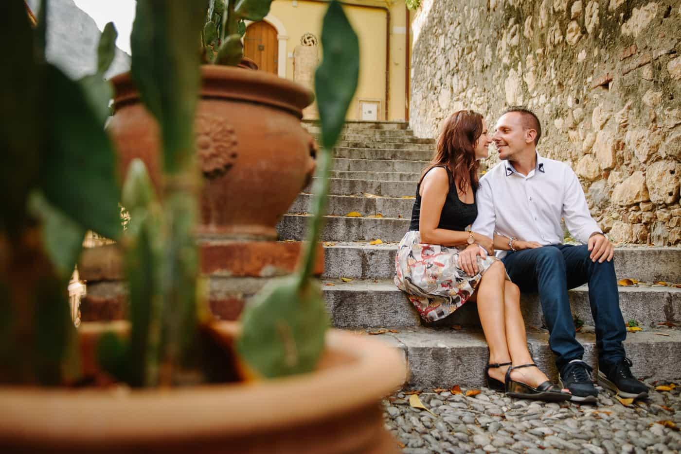 the modern romance in Taormina - Giuseppe Torretta