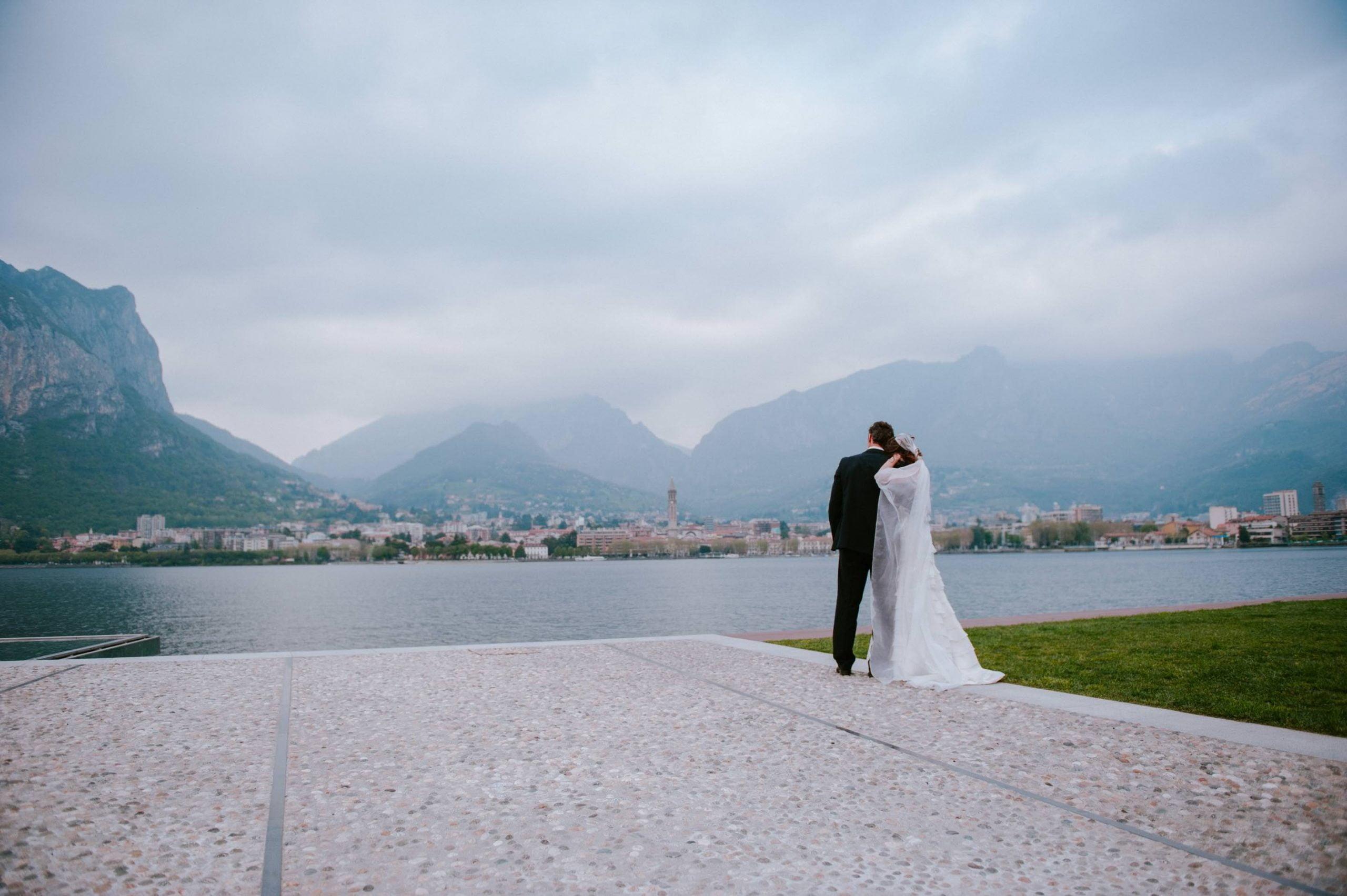 trash the dress at Garda lake - Giuseppe Torretta
