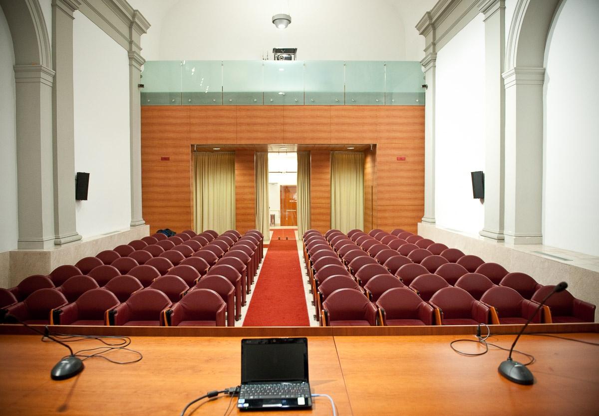 interiors photos of the Camplus D'Aragona