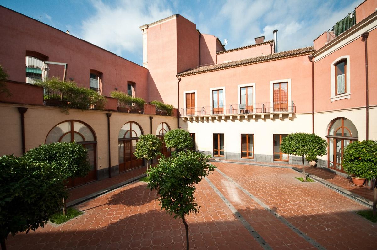 interiors photos of the Camplus D'Aragona - Glam