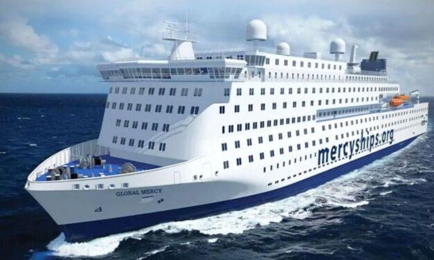El GLOBAL MERCY, el buque hospital civil más grande del mundo, completó con éxito las pruebas de mar