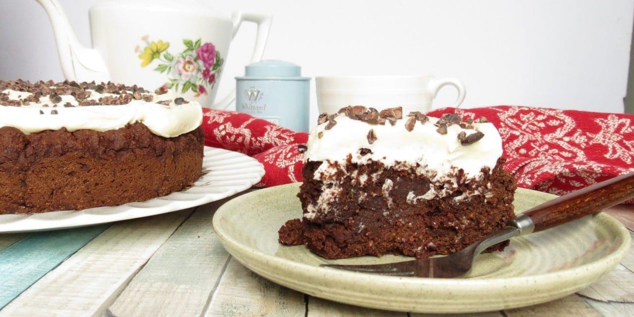 Beetroot Brownie Cake; gluten free, dairy free, egg free