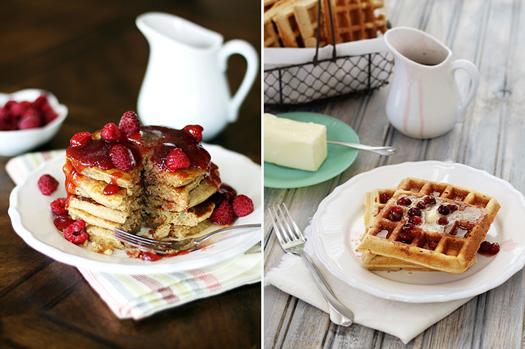 freezing pancakes and waffles