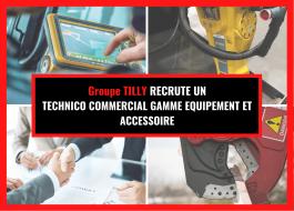 1 Technico-commercial senior gamme équipement et accessoire (H/F)