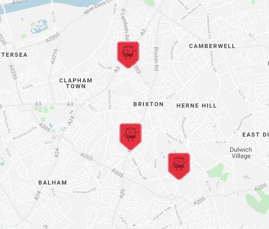 brixton self storage locationlocation