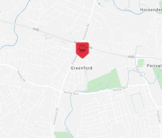 greenford location