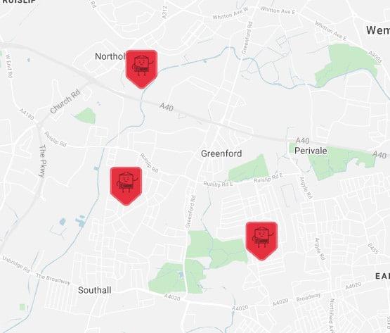 hillingdon self storage location