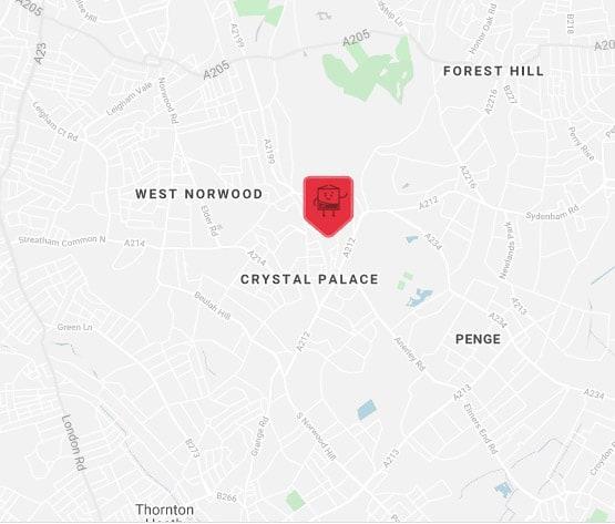 crystal palace location