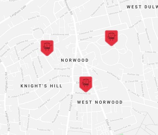 norwood self storage location