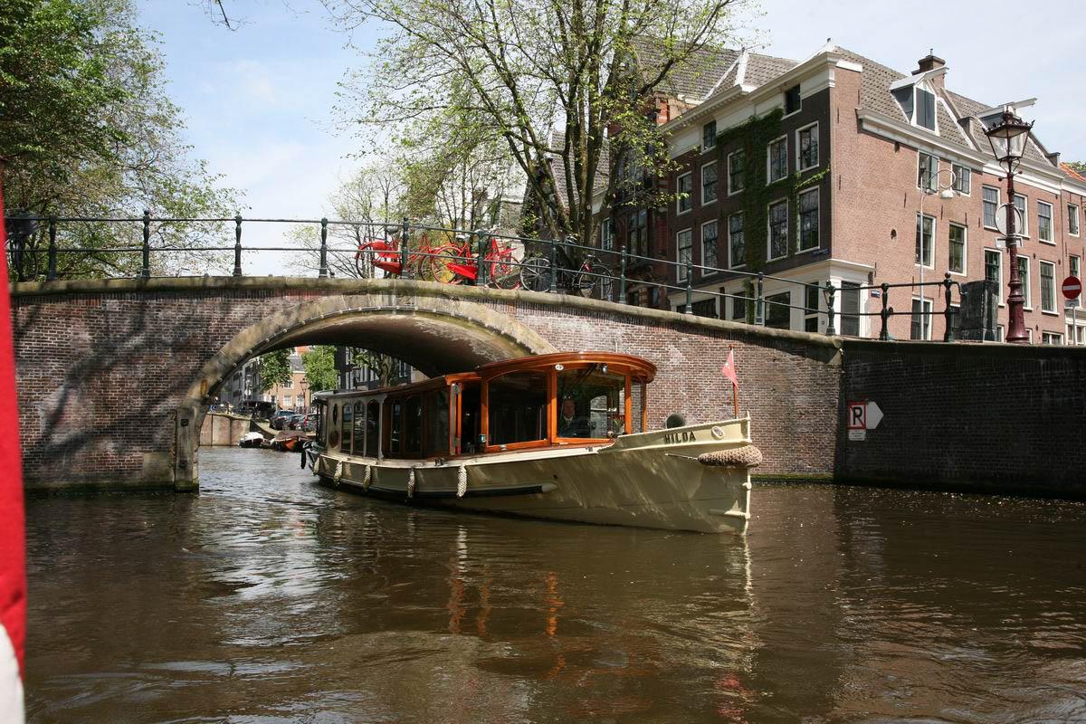 Amsterdam diner rondvaart