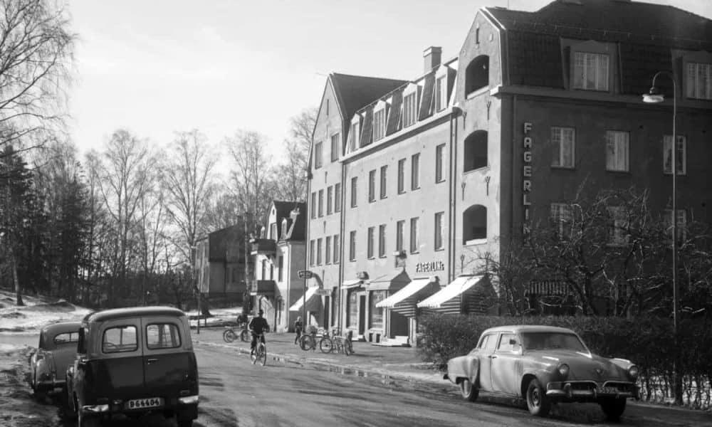 Stadshusplatsen 4 - År 1959 Photo: C-G Lillieroth, Nynäshamns bildarkiv nr 544