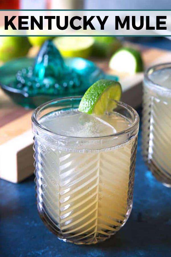 Kentucky Mule cocktail pin