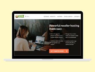 HostPapa reseller hosting