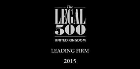 Hudgell Solicitors recommended as 'leading firm' in clinical negligence and personal injury in The Legal 500