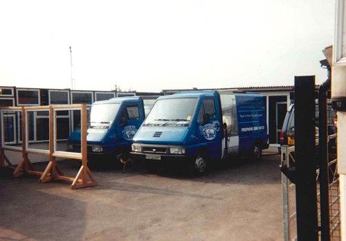 Reach & Wash fleet of company vehicles