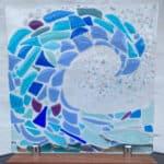 Isle of Bute Fused Glass Art
