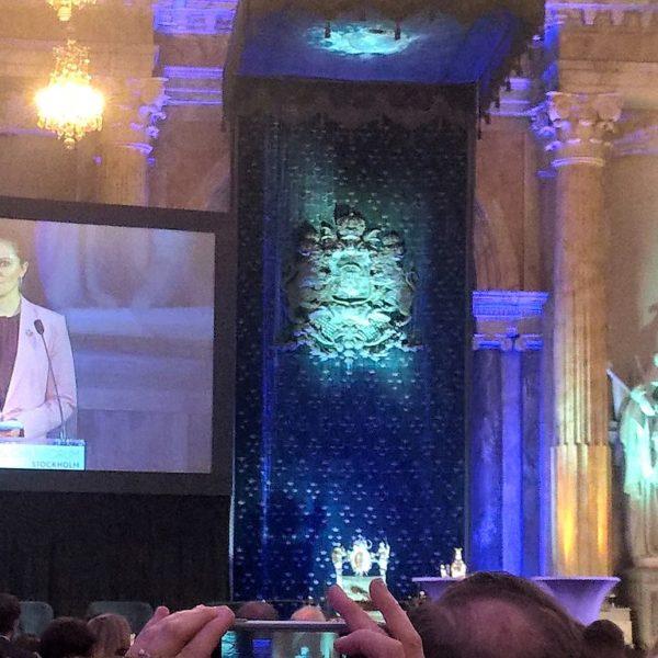 Zu Gast beim Global Child Forum im königlichen Palast zu Stockholm