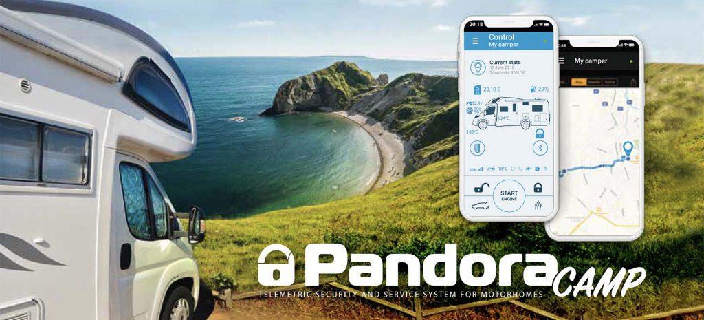 Pandora Camp die modernste & sicherste Wohnmobil Alarmanlage mit GPS Ortungssystem und Smartphone App