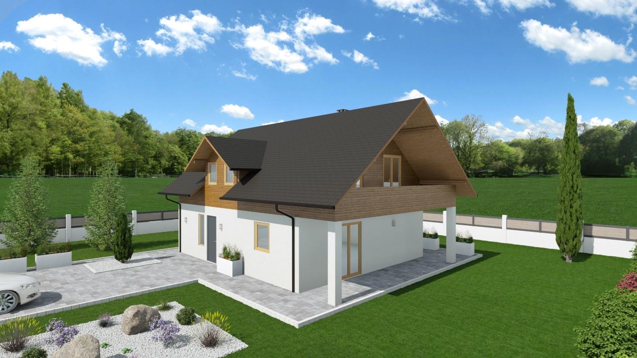 Lesena hiša Avis