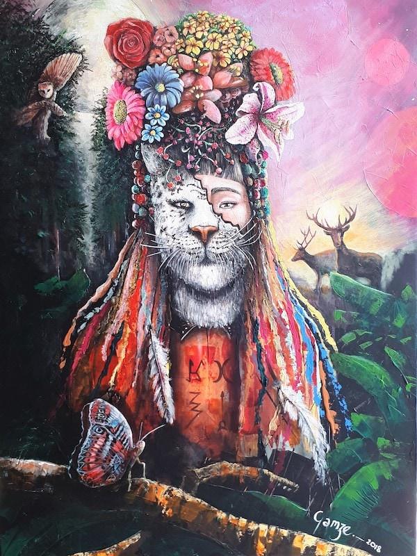 Ritual of Nature van Gamze Damen