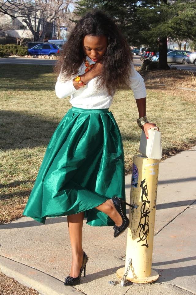 Nigerian Fashion bllogger
