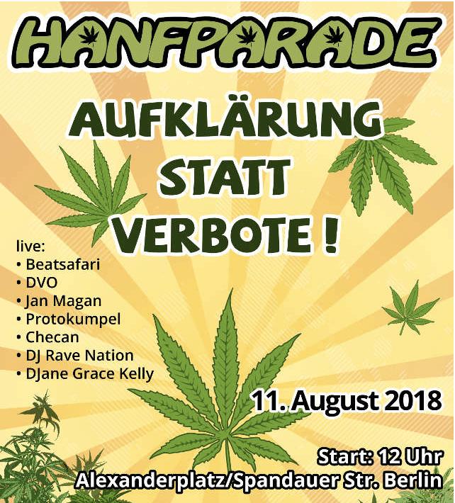 Hanfparade in Berlin: Am 11. August ist es soweit