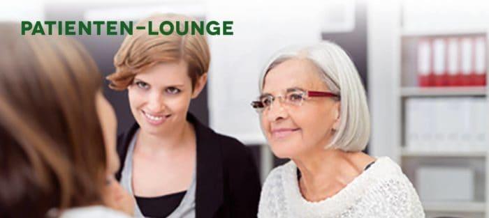 Patienten-Lounge bei der Cultiva in Wien wieder mit Leafly.de als Sponsor