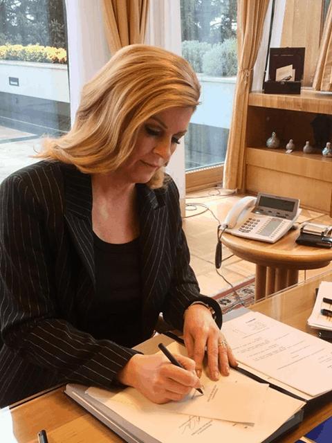 Kroatien: Präsidentin begnadigt Cannabispatient