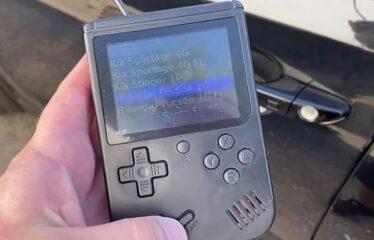 'GameBoy' de 25.000€ permite roubo facilitado de carros
