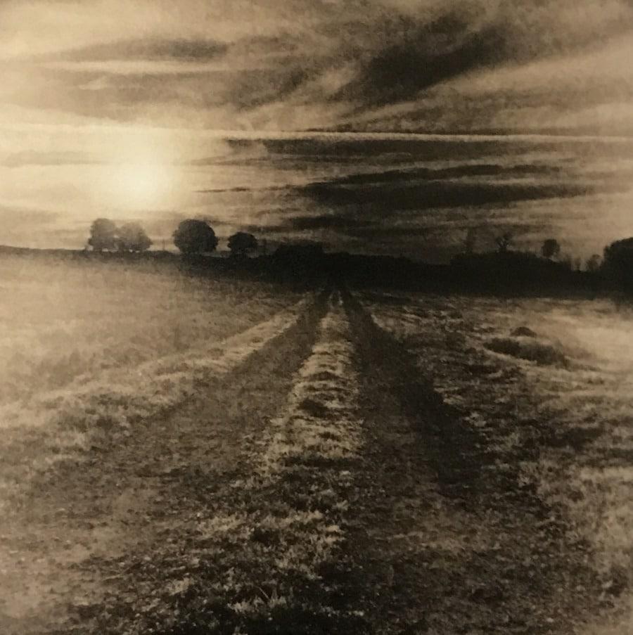 Rising Sun over Field © Guillaume Zuili