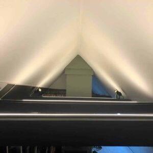 Indirekte led belysning af loft | LEDhome.dk