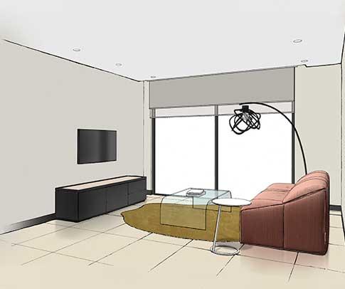 Ligne Roset Interior Design