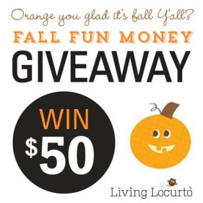 Fall Fun Money Giveaway!