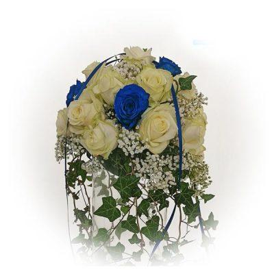 Hochzeit - Dekorationskugel mit Ecuador Rosen