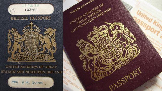 Passaporti britannici