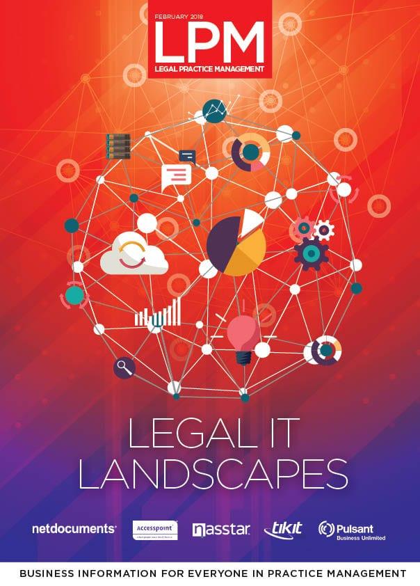 Legal IT landscapes 2018