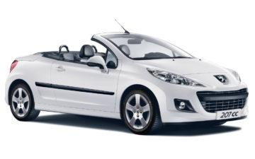 Buchen Peugeot 207