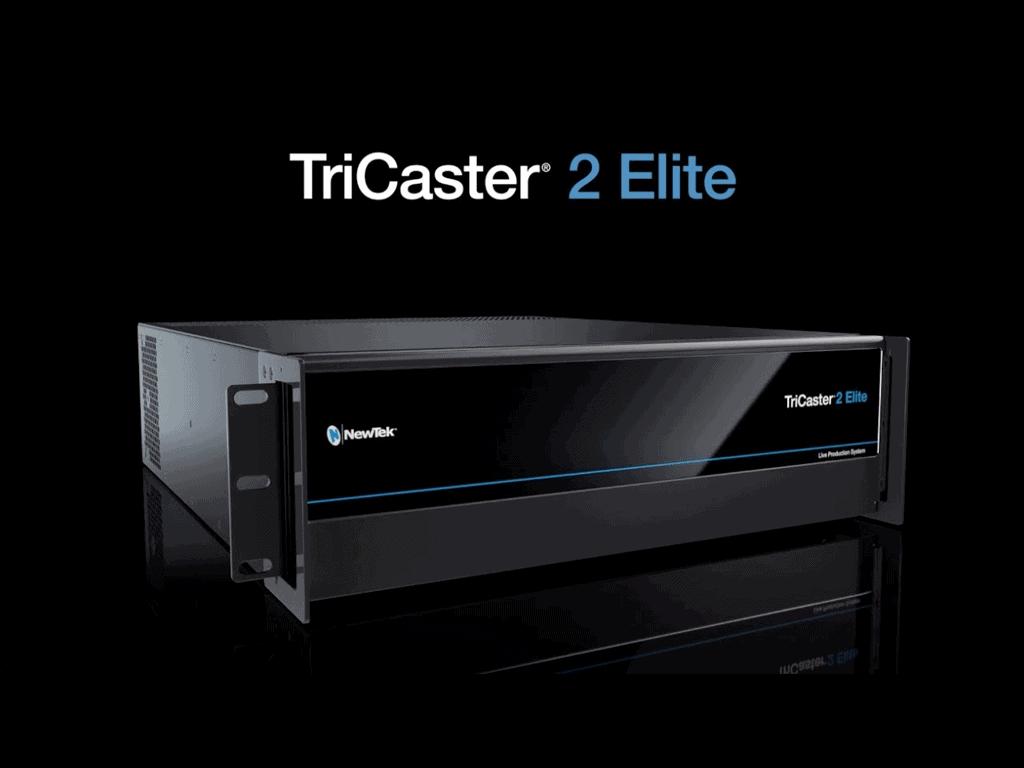 Newtek lança TriCaster 2 Elite, broadcast como nunca se viu.