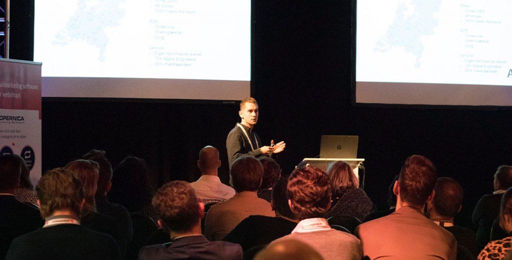 Presentatie Michael Dekker bij Webwinkel Vakdagen