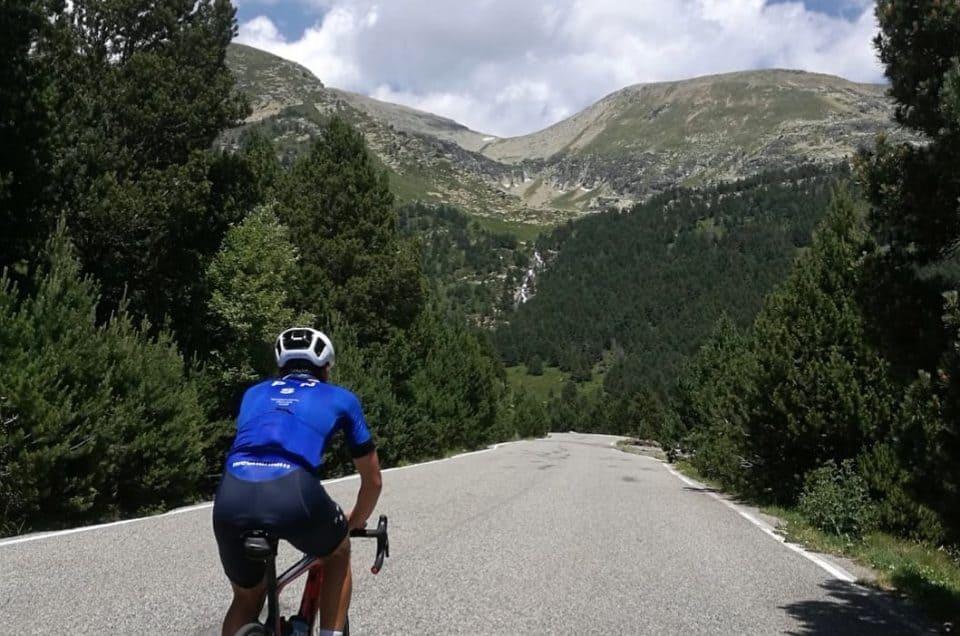 Vélo de route en Andorre