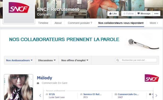SNCF lance une application qui met en lien direct ses collaborateurs avec les internautes
