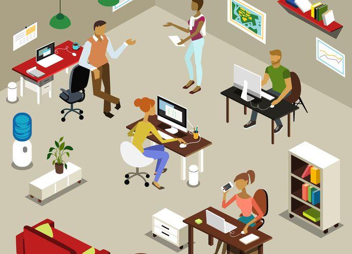 Les espaces ouverts ou la crise de l'intimité au bureau