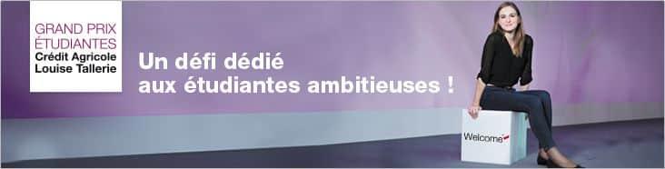 « Un défi dédié aux étudiantes ambitieuses ! »