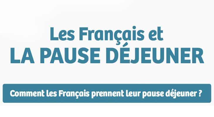 """Les Français et """"La pause déjeuner"""""""
