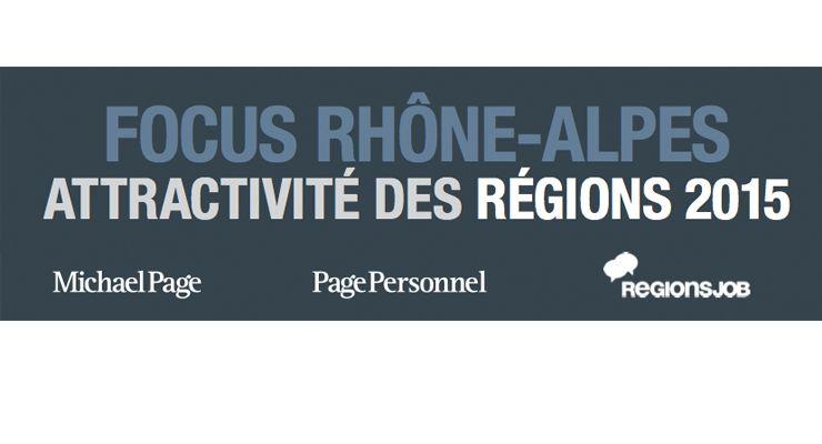 Mobilité des salariés et attractivité de la région Rhône-Alpes