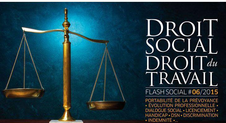 Flash Social #JUIN 2015 : Lois et réglementations