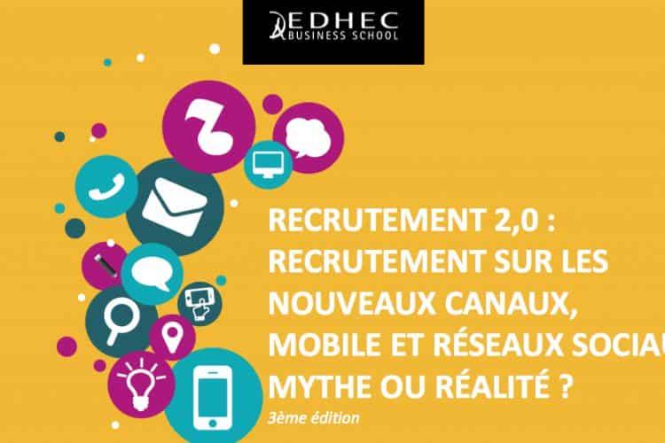 Recrutement sur les nouveaux canaux, mobile et réseaux sociaux, mythe ou réalité ?